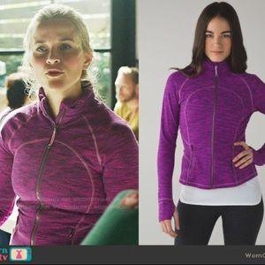 Lulu lemon purple/pink define jacket
